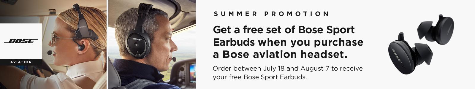 Bose Summer Promotion A20 Proflight Series 2