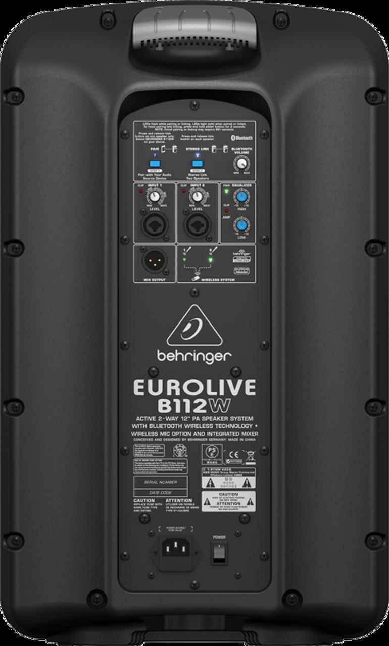 """New Behringer B12X 1000W 12/"""" Powered Speaker Authorized Dealer FULL WARRANTY"""