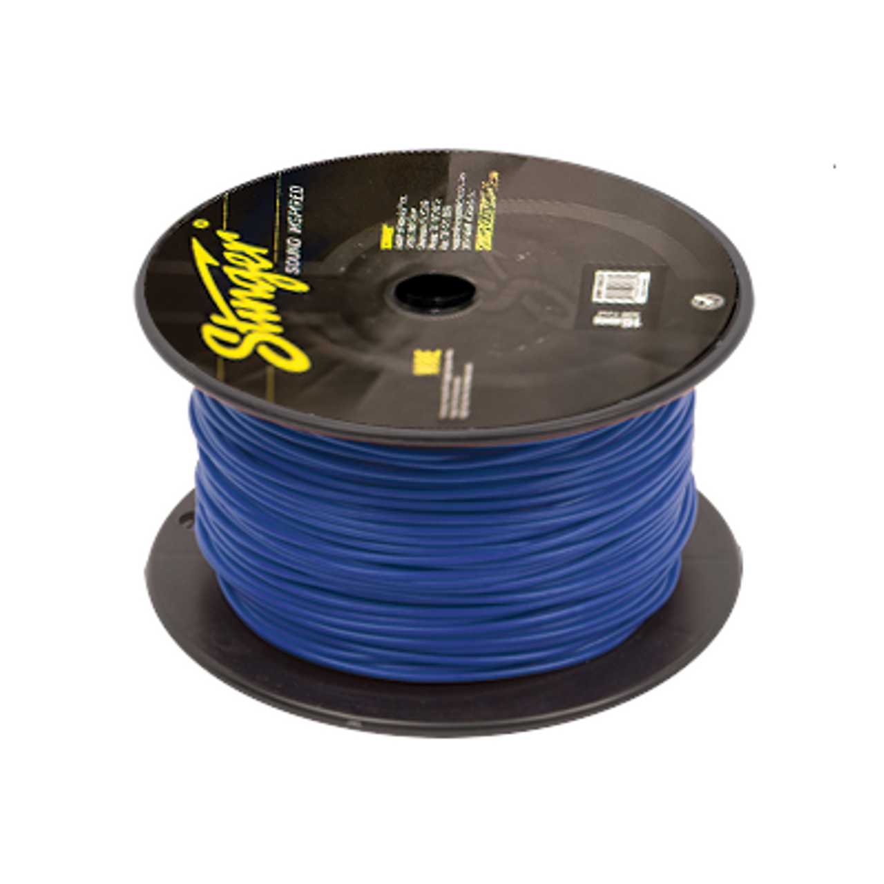 Stinger SPW318TU Audio Power Wire 18 Gauge Cable 500 ft Spool Roll Blue