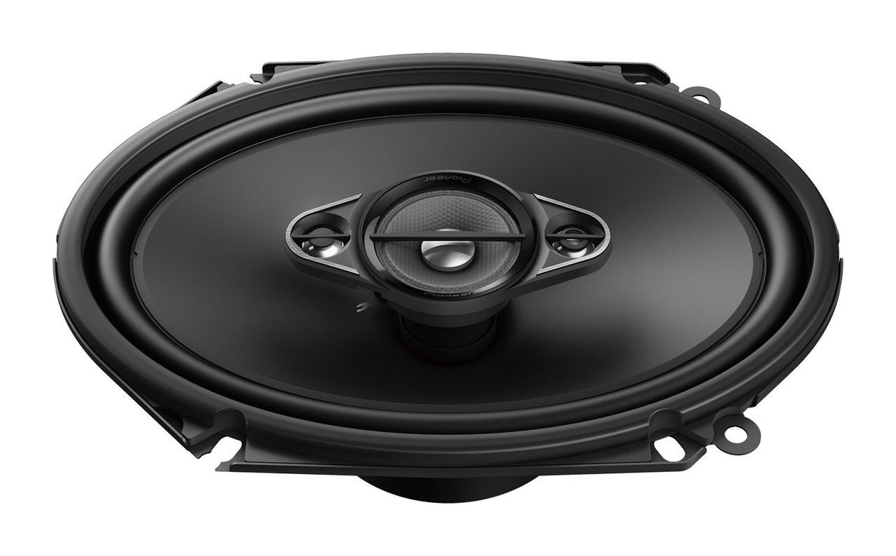 """Pioneer TS-A4670F 210 W Max 4/""""x 6/"""" 4-Way 4-Ohm Stereo Car Audio Coaxial Speakers"""