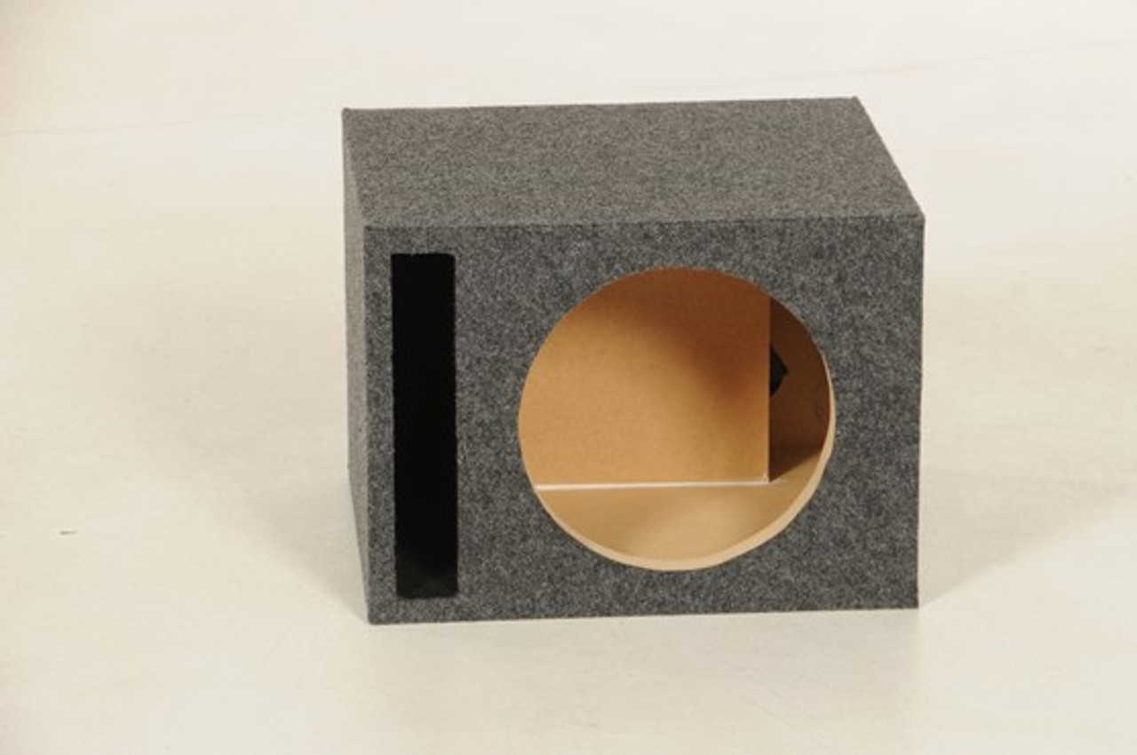 "Qpower 2 Hole 15/"" Vented Woofer Box with 1/"" MDF face"