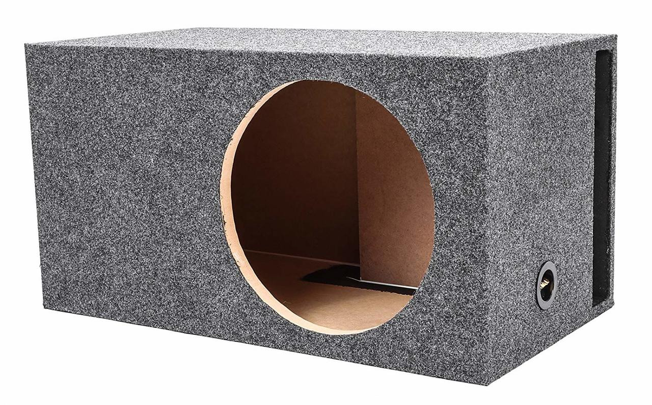 Q Power HD112 12-Inch Single Heavy Duty Vented Square Subwoofer Enclosure Box