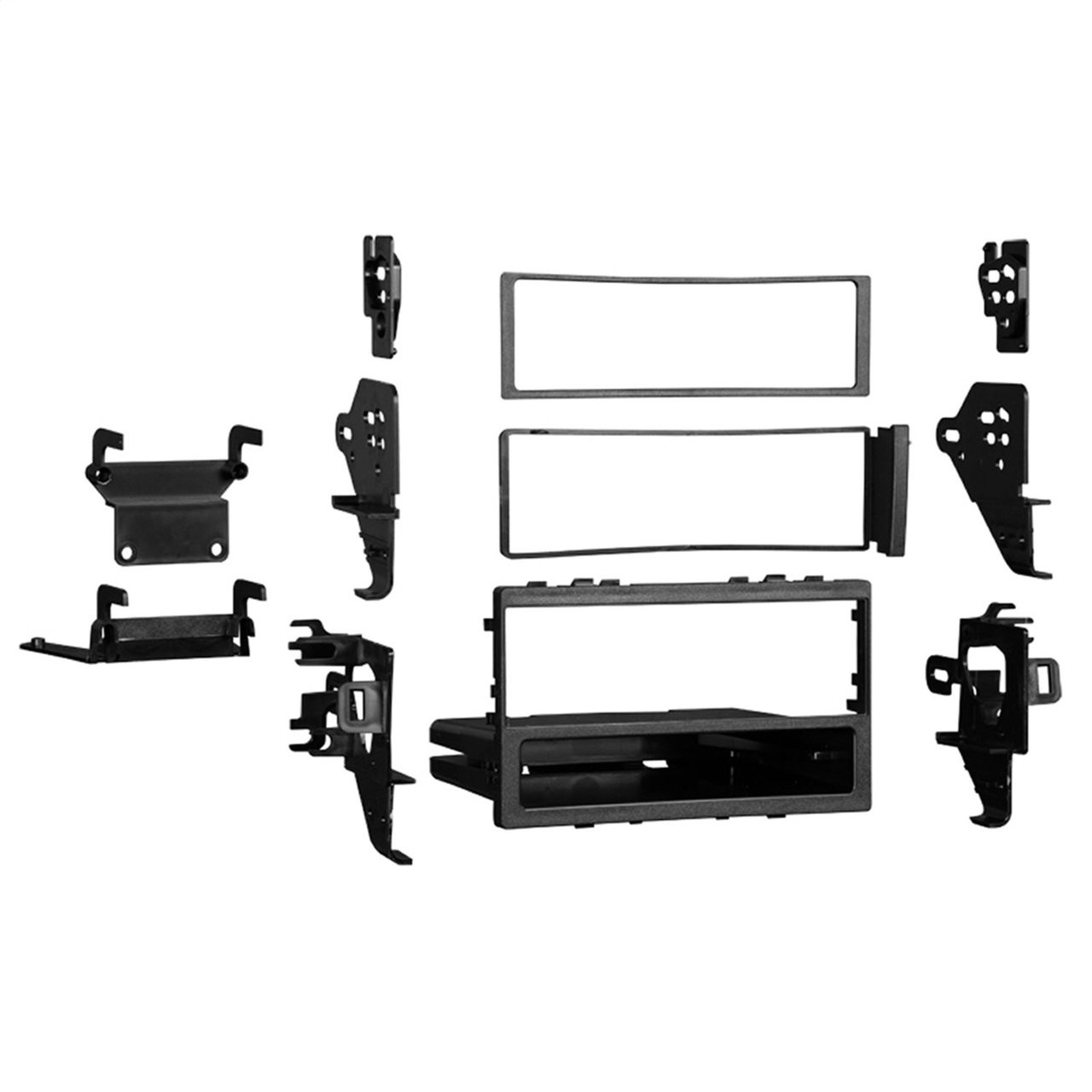 Metra 99-3011S Silver Single//Double DIN Dash Kit for 2011-up Chevrolet Cruze