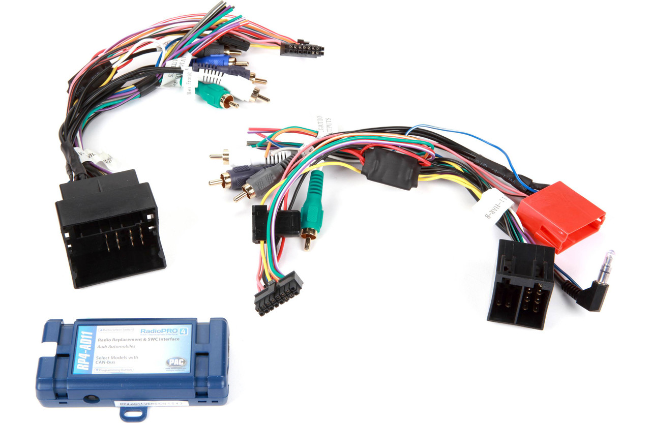Pac RP4-AD11 All In One Radio Replacement Interface W// Builtin Navigation Output