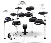 Alesis DM10 MKII Premium 10 pcs Electronic Drum Kit with Mesh Heads