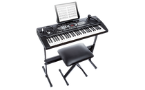 Alesis MELODY61MKIIXUS 61-Key Portable Keyboard with Accessories