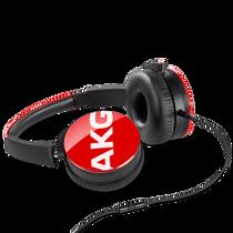 AKG Y50 On-Ear Headphones w/ Mic - Red