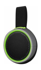 Braven B105SG Waterproof Bluetooth Wireless Portable Speaker - Silver Green