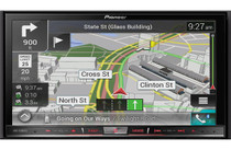 Pioneer AVIC-7201NEX Package With ND-BC8 Backup Camera