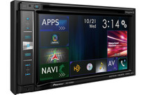 Pioneer AVIC-6201NEX Package With ND-BC8 Backup Camera