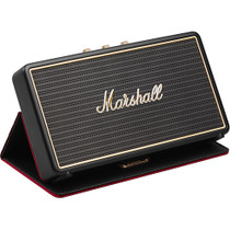 Marshall Stockwell Portable Bluetooth Speaker with Case, Black