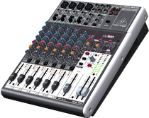 Behringer Xenyx 1204USB 12-Input 2/2-Bus Mixer with USB