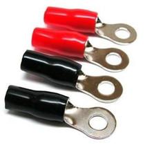 Stinger SPT5104B 4 GA. Crimp Ring Terms Black (Bulk)