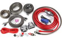 Rockford Fosgate RFK4D 4-gauge dual amplifier complete wiring kit