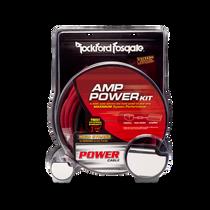 Rockford Fosgate RFK10 10-gauge amplifier power wiring kit