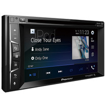 "Pioneer AVH-500EX Multimedia DVD Receiver with 6.2"" WVGA Display, Built-in Bluetooth"