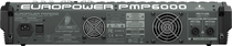Behringer Europower PMP6000 1600-Watt 20-Channel Powered Mixer