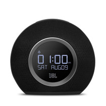 JBL Horizon  Bluetooth Black clock radio with USB charging and ambient light