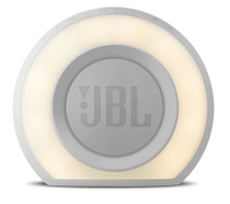 JBL Horizon  Bluetooth White clock radio with USB charging and ambient light