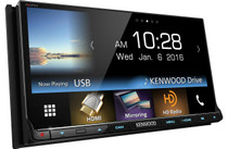 """Kenwood Excelon DDX9903S 7"""" DVD Receiver - Apple CarPlay & Android Auto"""