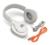 JBL E55BT White Wireless over-ear headphones