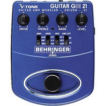 Behringer GDI21 - V-Tone Guitar Amp Modeler and Active Direct Box