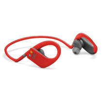 JBL Endurance DIVE Red Wireless Sports Headphones with MP3 Player