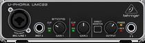 Behringer U-Phoria UMC22 2x2 USB Audio Interface