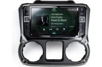 Alpine i209-WRA In-Dash Restyle System digital multimedia receiver  for Wrangler jeep & unlimited