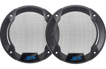 "Alpine KTE-S510G Speaker grilles for SPS-510 5-1/4"" speakers (pair)"