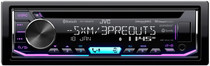 JVC KD-T805BTS 1-DIN CD Receiver