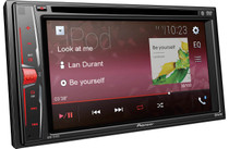 "Pioneer AVH-211EX Multimedia DVD-Receiver with 6.2"" WVGA Display, Built-in Bluetooth® Free Backup Camera"
