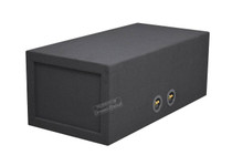 "12"" Dual Air Tube Ported SPL Subwoofer Box"