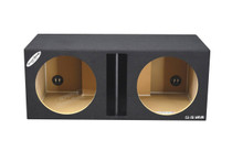 "12"" Dual Slot-Center Ported Subwoofer Box"