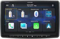 "Alpine iLX-F259, Halo9 9"" Single Din Mech-Less Digital Media Receiver"