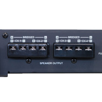 Alpine BBX-F1200 600W Max BBX Series 2-ohm Stable 4 Channel Class-A/B Amplifier
