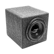"Skar Audio IX-1X8D2 Single 8"" 300W Dual 2 Ohm Loaded Sealed Subwoofer Enclosure"