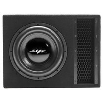 "Skar Audio EVL-1X12D2 Single 12"" 2,500 Watt EVL Series Loaded Vented Subwoofer Enclosure"