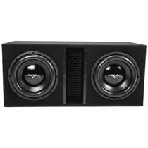 "Skar Audio EVL-2X12D4 Dual 12"" 5000W Loaded EVL Series Vented Subwoofer Enclosure"
