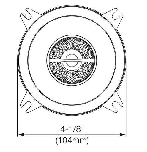 Jbl Gx402 4 2 Way Speaker