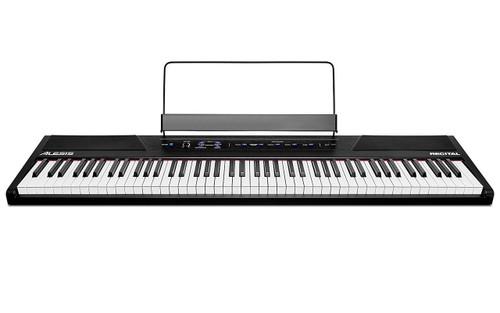 Alesis RECITALXUS 88-Key Digital Piano with Full-Sized Keys