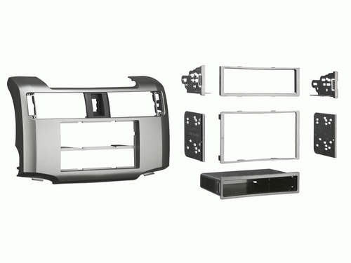Metra 99-8227S Dash Kit for Toyota 4 Runner 2010 (Silver)