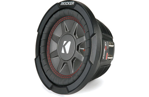 "Kicker 43CWRT671 CompRT shallow-mount 6-3/4"" subwoofer 1-ohm"