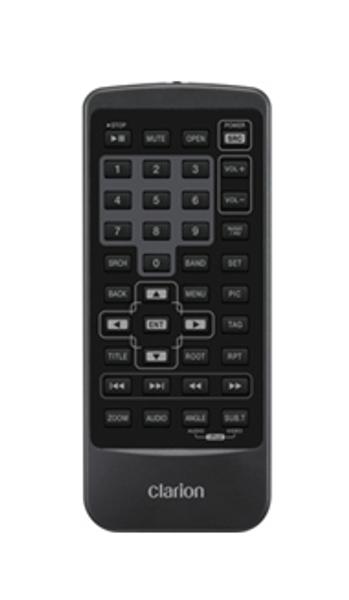 Clarion Remote Control For NX501 / NZ501 / VX401 / VZ401 - RCX005