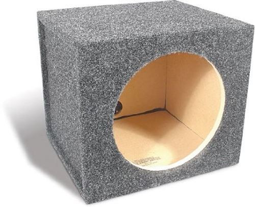 Sealed Single Subwoofer Boxes