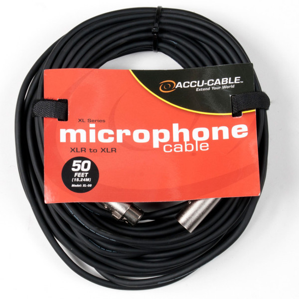 Microphone Cables & Connectors