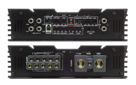 5 Channel Amplifiers