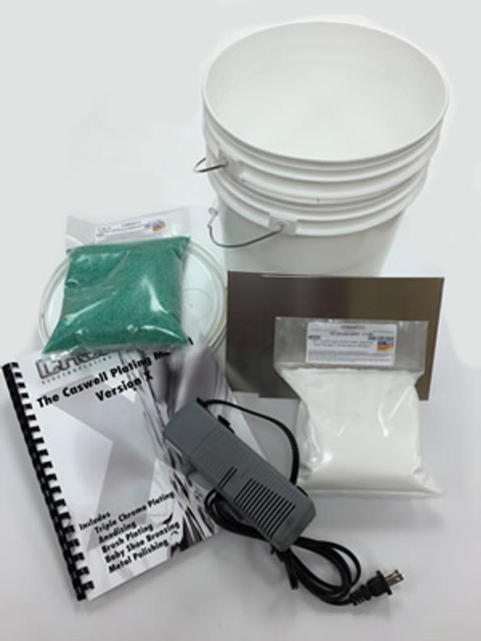 Nickel Electroplating Kit - 1.5 Gal