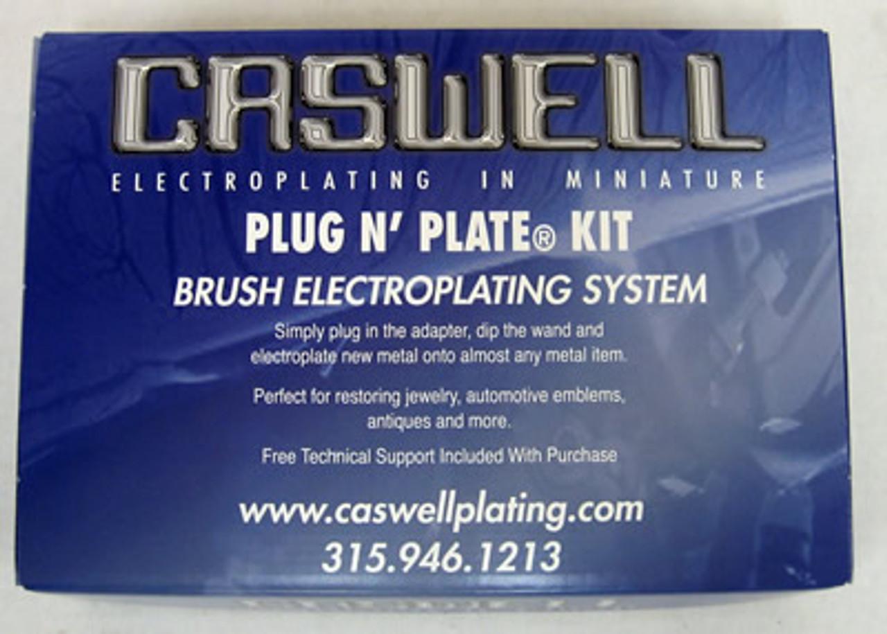Plug N' Plate Black Krome/Gold Kit