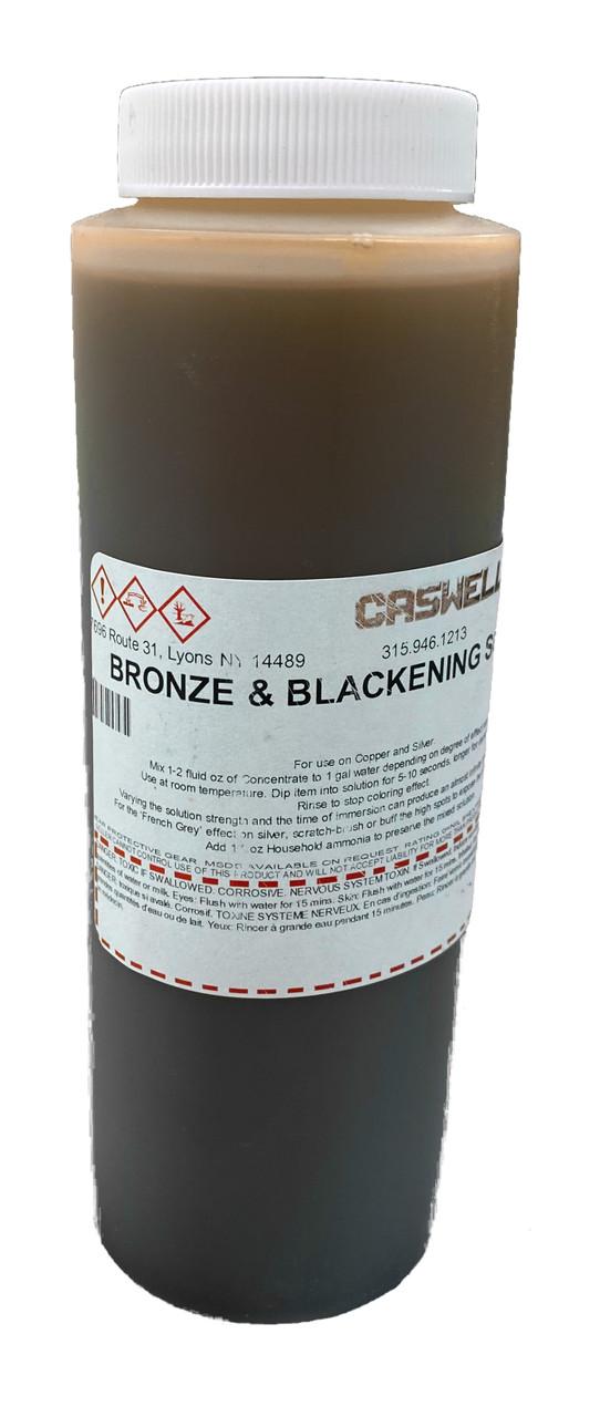 Bronze & Blackening Solution 8 fl oz